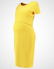 Queen Mum Hverdagskjole yellow