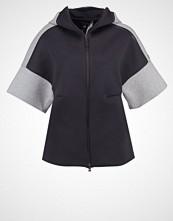 Adidas Performance Treningsjakke black/medium grey heather