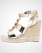 Laura Biagiotti Sandaler med høye hæler light gold
