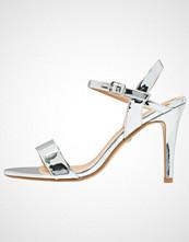 Buffalo Sandaler med høye hæler metallic silver