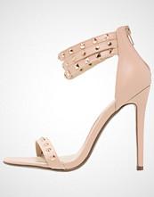Missguided Sandaler med høye hæler blush