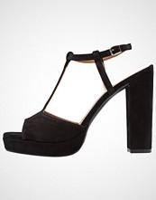 mint&berry Sandaler med høye hæler black