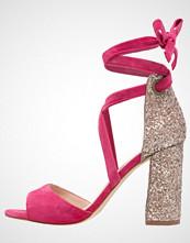 Minelli Sandaler med høye hæler fuchsia
