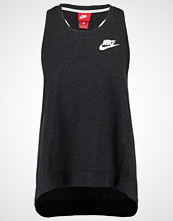 Nike Sportswear GYM VINTAGE Topper black heather