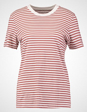 Selected Femme SFMY PERFECT Tshirts med print burlwood