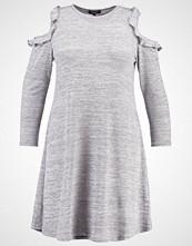 New Look Curves Strikket kjole grey