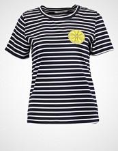 Glamorous Tshirts med print navy/white