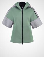 Adidas Performance Treningsjakke trace green/medium grey heather