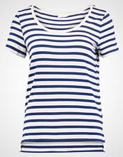 Vila VICOLLECT Tshirts med print super light grey melange/estate blue