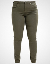 Zizzi EMILY Slim fit jeans dark green