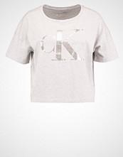 Calvin Klein TECA  Tshirts med print light grey heather