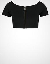 Missguided Tshirts med print black