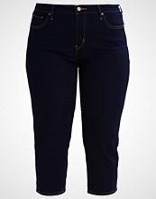 Levi's Plus SHAPING CAPRI Slim fit jeans darkest indigo