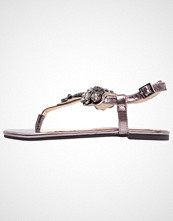 Buffalo Flip Flops metallic pewter