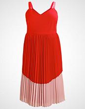 Lost Ink Plus Fotsid kjole red