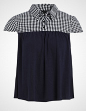 Lost Ink THE BELLA GINGHAM Tshirts med print navy