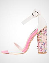 Lost Ink MIRIAM Sandaler med høye hæler white