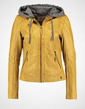 Oakwood Skinnjakke dark yellow