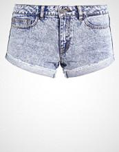 Noisy May NMFRAN Denim shorts light blue