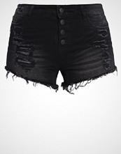 Only ONLPACY Denim shorts black