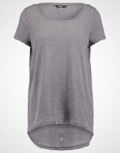 Only ONLCASA Tshirts med print medium grey melange