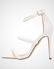 Missguided BARELY THERE Sandaler white