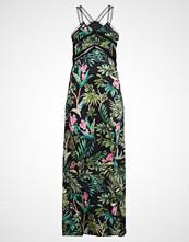 Morgan ROYEL Fotsid kjole noir/multicolor