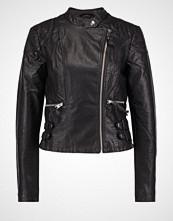 Vero Moda VMALINA MILEY  Imitert skinnjakke black