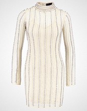 Missguided Cocktailkjole silver/nude