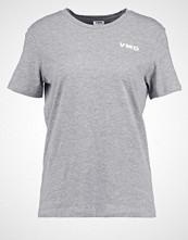 Vero Moda VMD Tshirts med print light grey melange