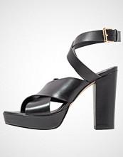 mint&berry Sandaler med høye hæler nero