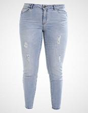 Junarose JRFIVE Slim fit jeans light blue denim