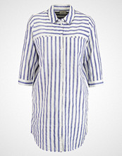 Vero Moda VMSTRIPY Skjorte snow white/denim blue close stripes