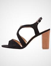 Pier One Sandaler med høye hæler black
