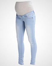 Mamalicious MLALEXA  Slim fit jeans light blue denim