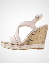 Pier One Sandaler med høye hæler pink