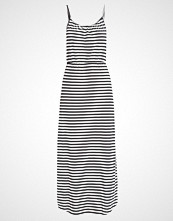 Vero Moda VMENJOY  Fotsid kjole black/snow white