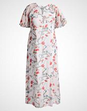 Junarose JRRISIA MAXI Fotsid kjole snow white