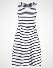 Vero Moda VMOSLO STRIPE Jerseykjole snow white/navy blazer