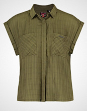 Superdry BOXY Skjorte vine khaki