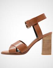 Zign Sandaler med høye hæler cognac