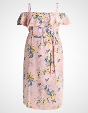 New Look Curves FLORAL Sommerkjole pink pattern
