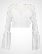 Missguided Bluser white