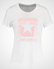 Converse METALLIC BOXSTAR Tshirts med print white