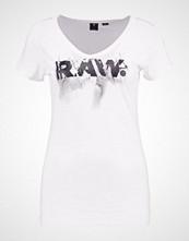 G-Star GStar DAEFERA SLIM V T S/S Tshirts med print white