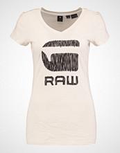 G-Star GStar SUNDU SLIM V T S/S Tshirts med print ivory