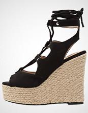 Vero Moda VMSARINA  Sandaler med høye hæler black