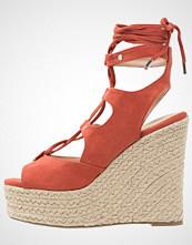 Vero Moda VMSARINA  Sandaler med høye hæler mecca orange