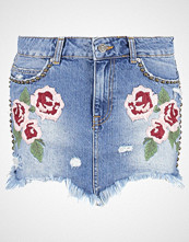 Free People WILD ROSE  Miniskjørt light denim