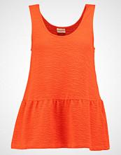 Selected Femme SFMEGALOS Topper mandarin red